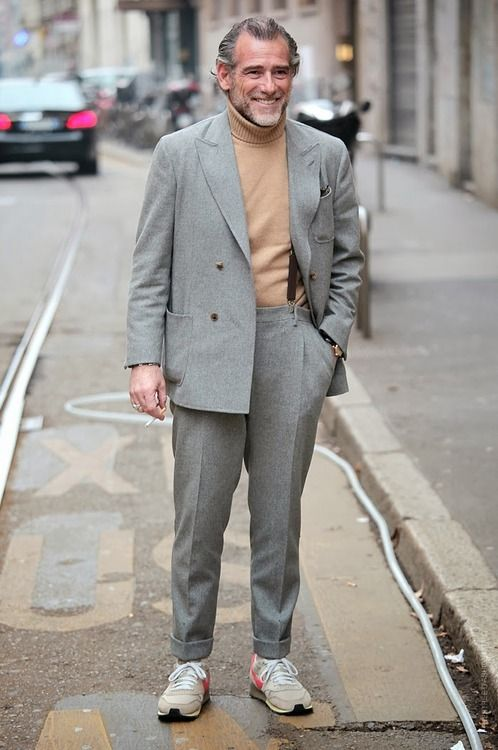 Alessandro Squarzi Suits and Sneakers